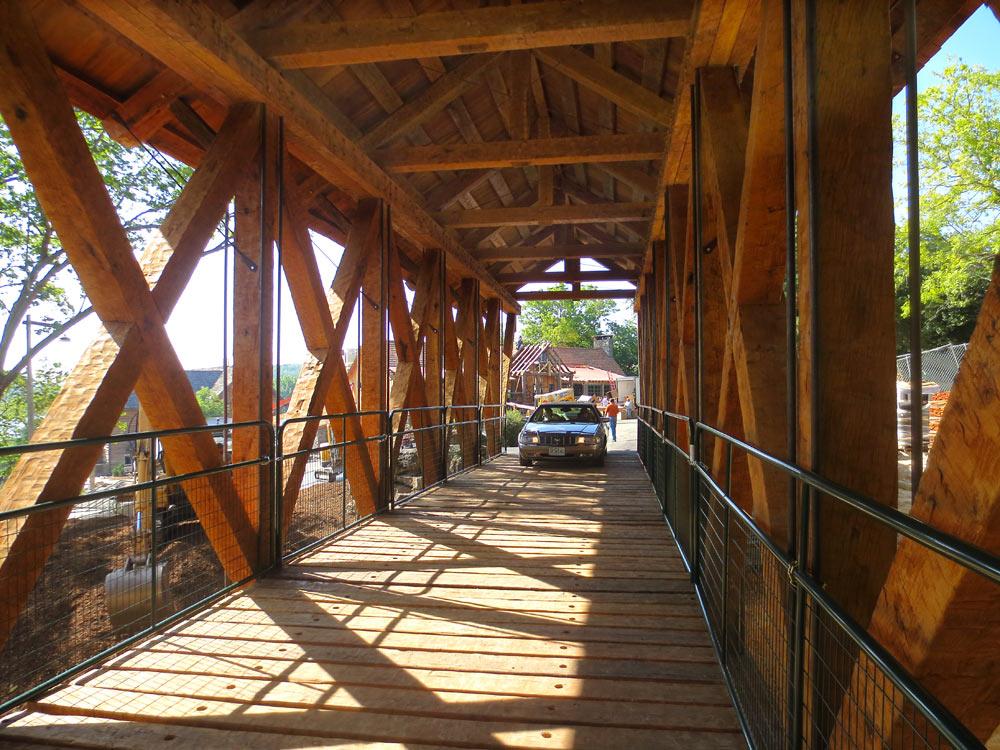 Ozark Timber Frame Timber Frame Covered Bridges